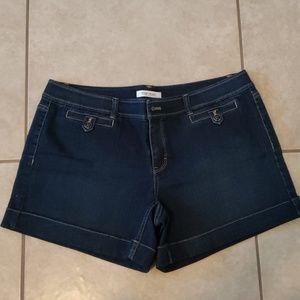 WHBM Blanc Essential Denim Shorts